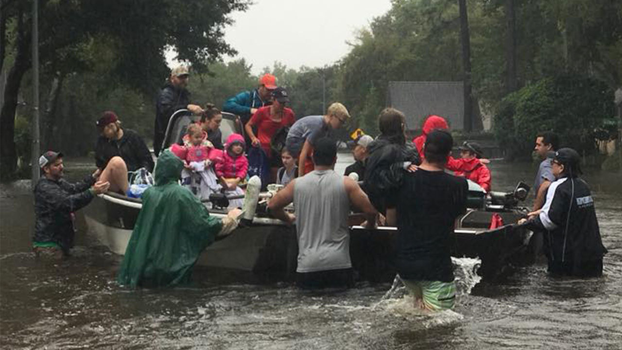 It Felt Like We Were In A War Zone Hurricane Harvey