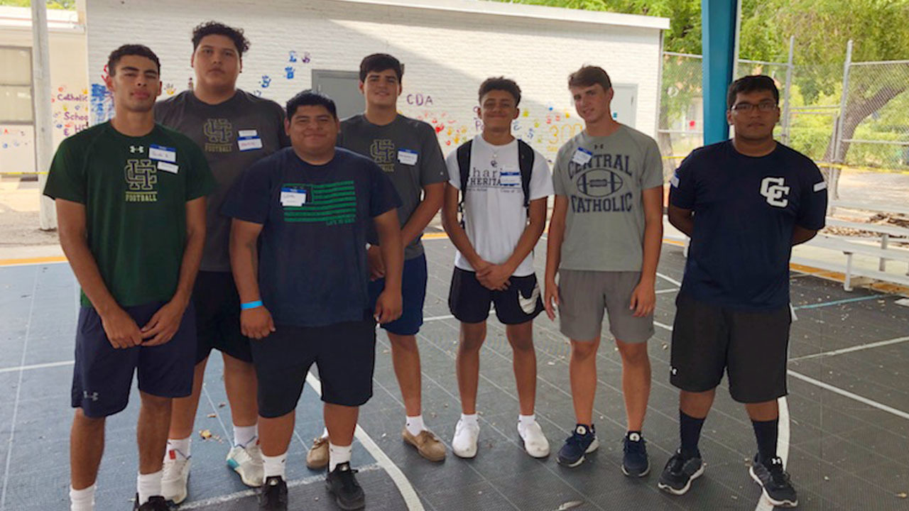 Holy Bowl Rivals Team Up To Serve Common Good