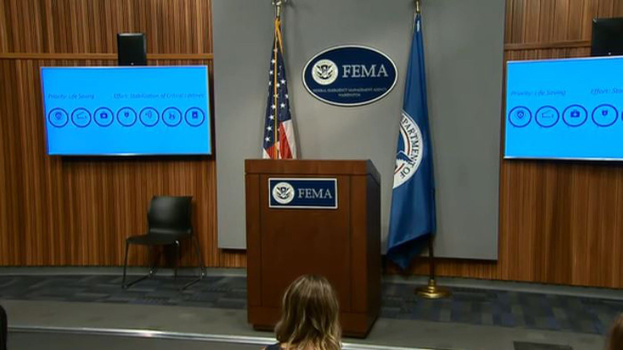 Watch Live Latest Hurricane Florence Fema Briefing