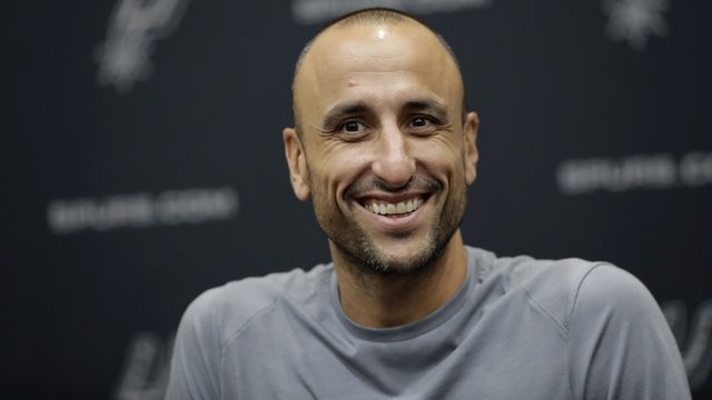 Manu Ginobili tweets he cried at Pink concert, expects emotional week