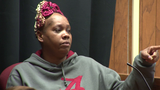 Woman identifies boyfriend's accused killer in court