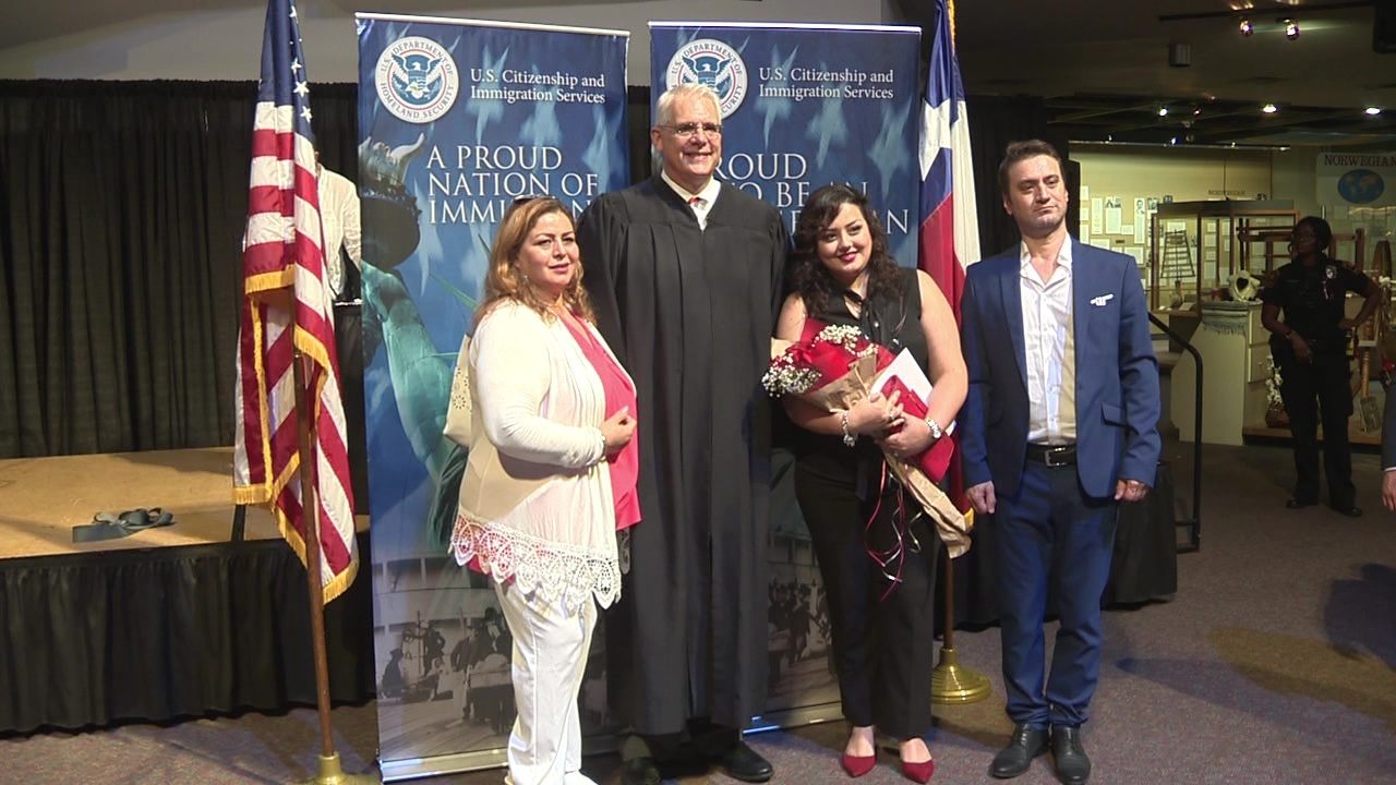 New naturalized citizens increasing in SA, around nation