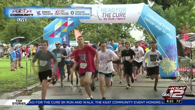 KSAT Community spotlight Feature: Head for the Cure 5K