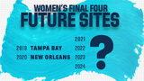 Will San Antonio land NCAA Women's Final Four?