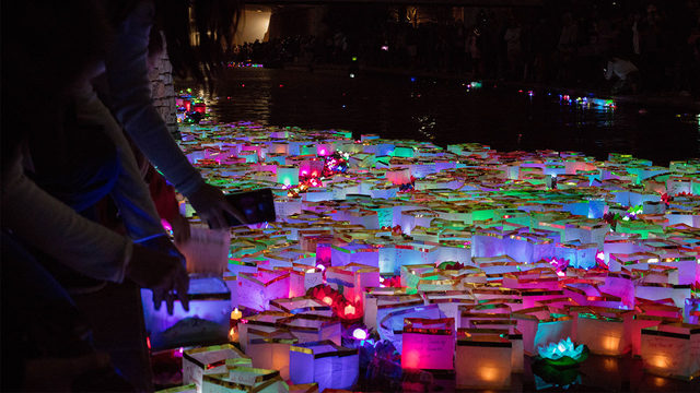 30,000 wishing lanterns will light up River Walk this weekend