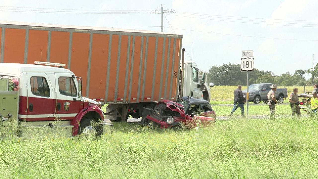 DPS identifies woman, 18, killed in crash involving 18-wheeler