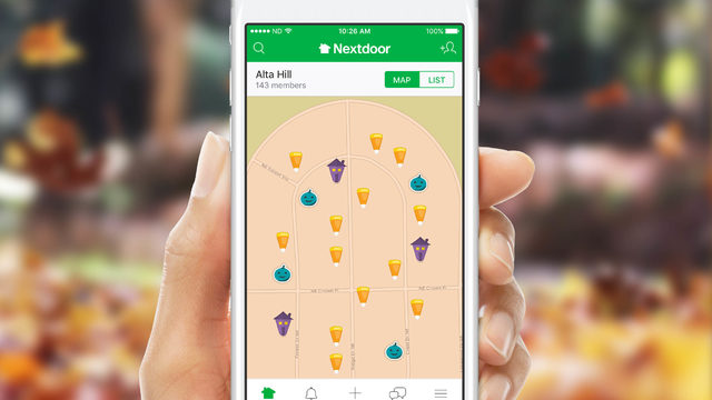 Nextdoor launches 'Treat Map' for those handing out candy on Halloween