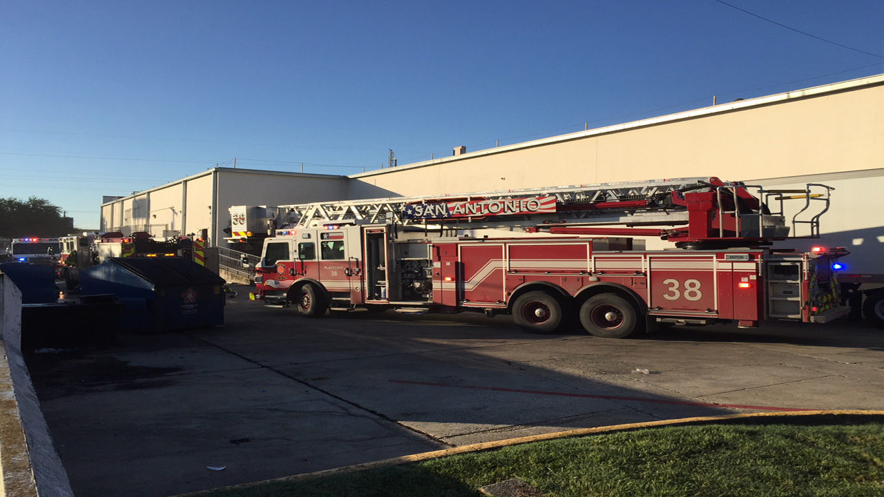 Firefighters respond to reported fire at Goodwill store on...