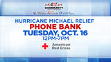 KSAT Community and partners to hold Hurricane Michael Relief Phone Bank Tuesday