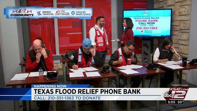 Texas Flood Relief Phone Bank Oct. 16