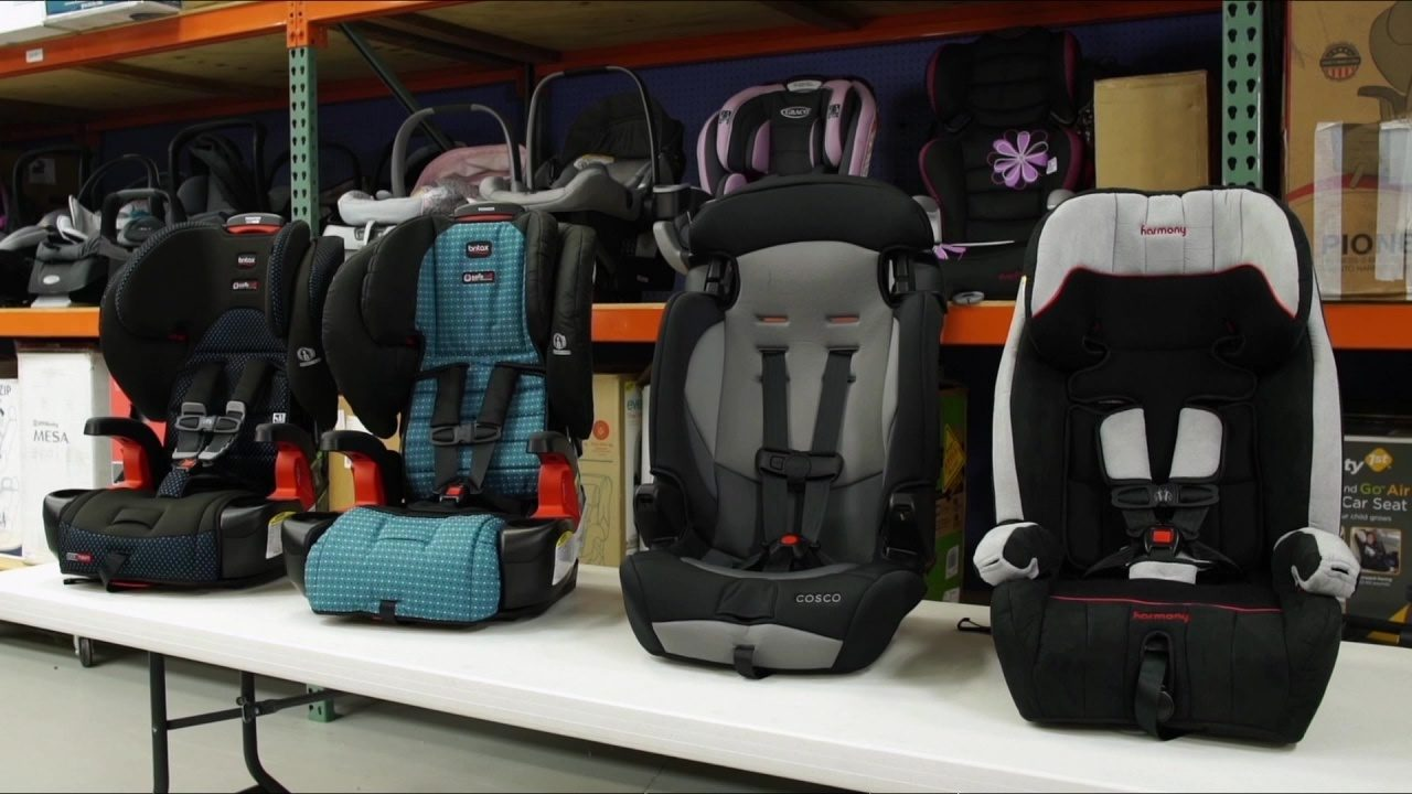Consumer Reports crash tests show child seat parts break