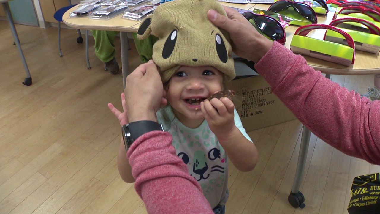 Pediatric patients celebrate Halloween early