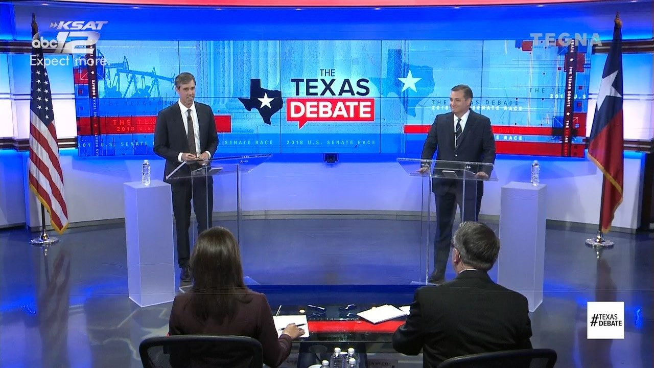 Cruz, O'Rourke trade barbs in second Senate debate