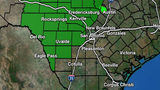 Rain chances lower on Wednesday, high temps to be in mid 50s