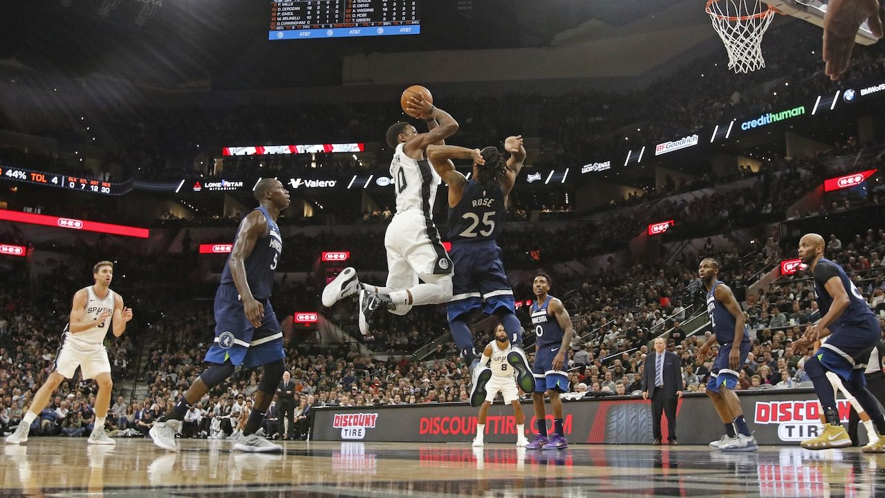 DeMar needs jersey for his mom, plus more takeaways from Spurs...