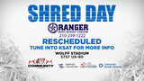 UPDATE: Shred Day has been rescheduled due to inclement weather