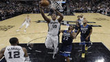 DeRozan leads Spurs past Wolves in debut with new team