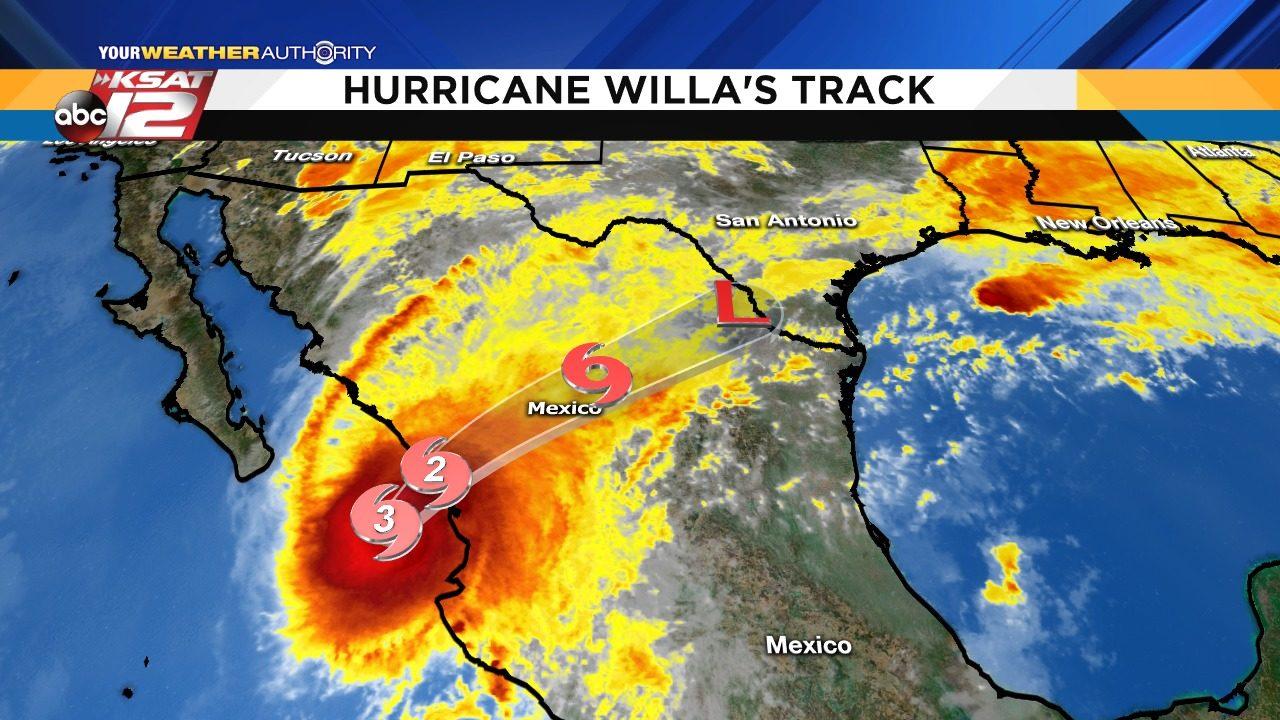 How Hurricane Willa Will Affect San Antonio