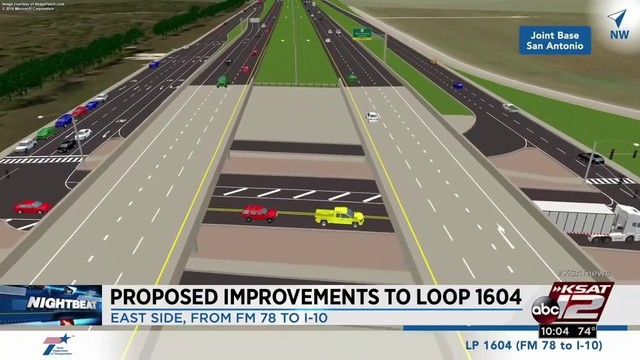 txdot proposes 200m plan to ease congestion along loop 1604