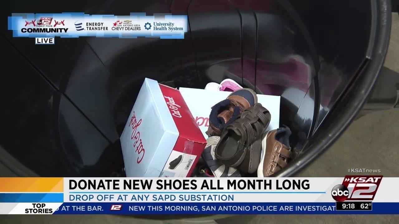 KSAT Community: Share the Shoes Drive | KSAT 12