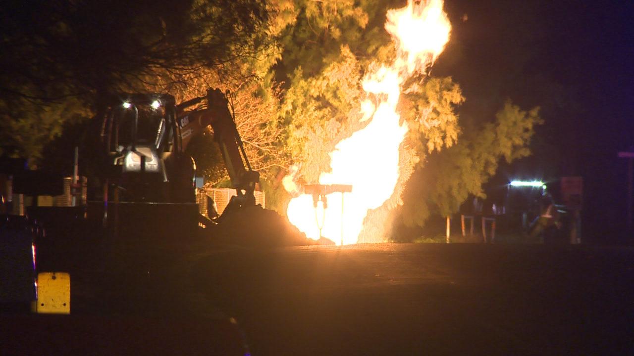 Natural Gas Line Break Triggers Evacuations School