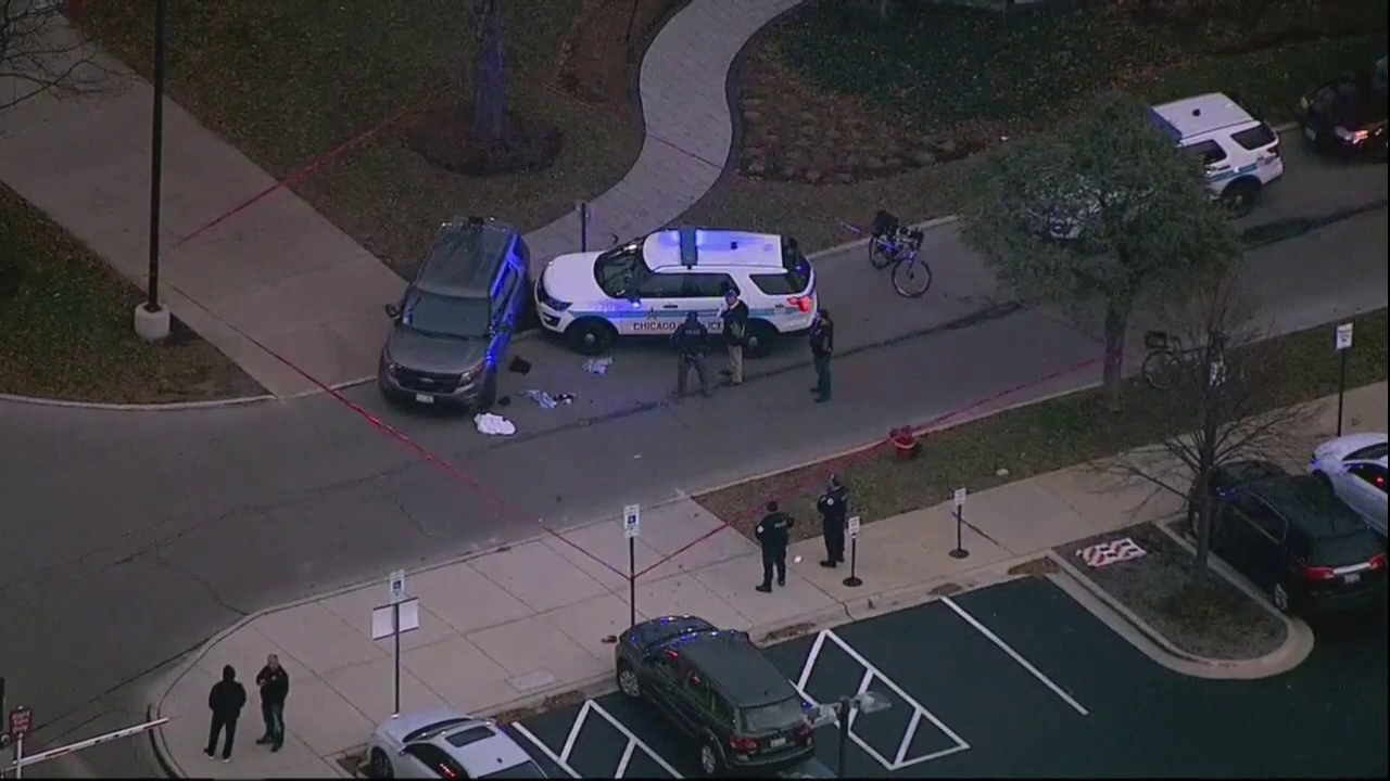 At least 4 wounded in Chicago hospital shooting