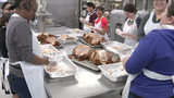 Volunteers, chefs prep for SA's largest Thanksgiving dinner