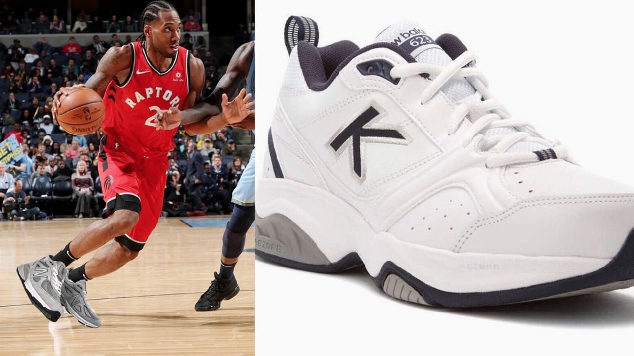 f62e8099a478 Social media roasts Kawhi Leonard for shoe deal with New Balance