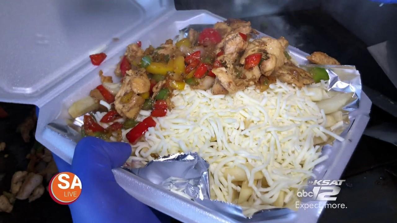 Cheesiest Chicken Fajita Cheese Fries In San Antonio