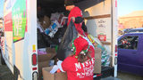 'Santa's Cruisers' collect presents, clothes for kids in need
