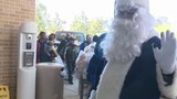 Blue Santa, police officers visit patients at Children's Hospital of San Antonio