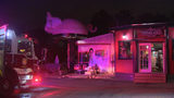 Fire pit flare-up causes minor damage at well-known local BBQ restaurant