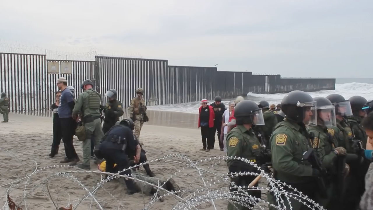 SA pastor details abrupt end to San Diego protest at U.S.-Mexico border