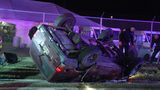 Woman extracted from SUV following rollover crash on West Side