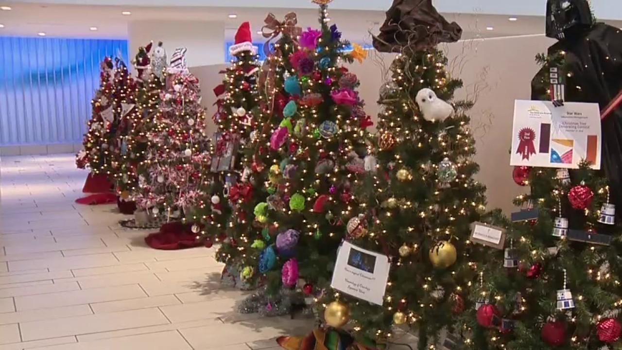 Children's Hospital Of San Antonio Donates Christmas Trees