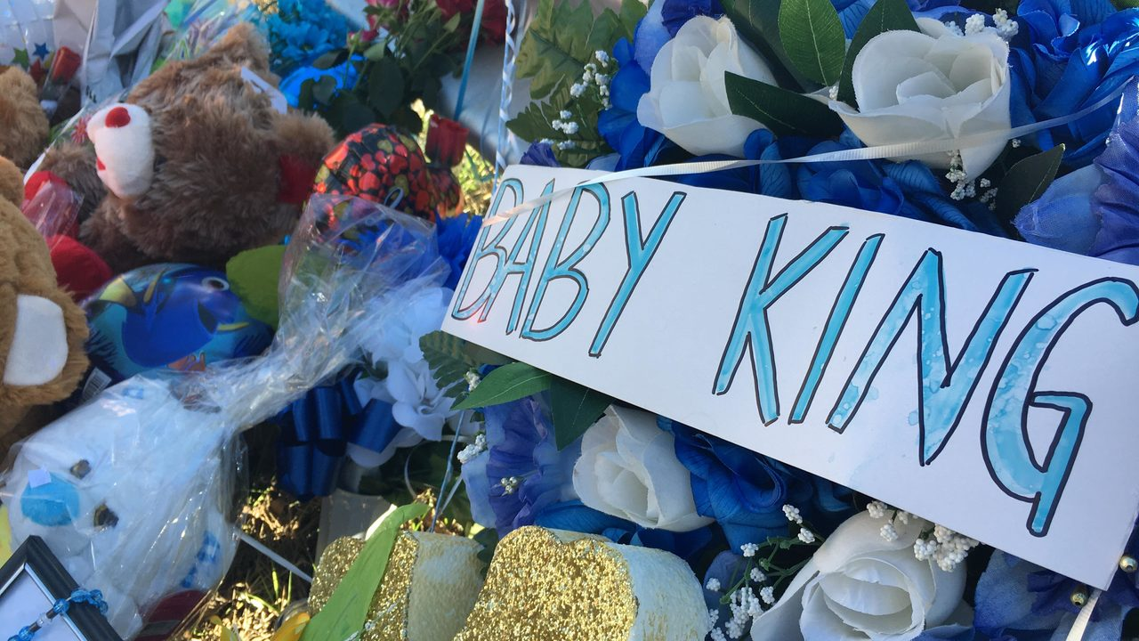 Memorial For Baby King Jay Davila Continues To Grow