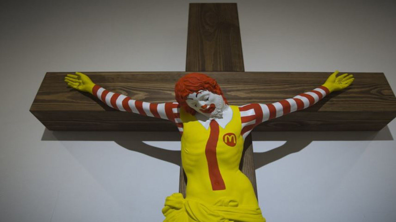 Mcjesus Sculpture Sparks Outrage Among Israel S Christians