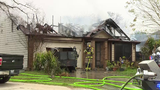 House fire displaces family of four
