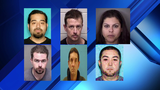 12 arrested, charged with organized criminal activity