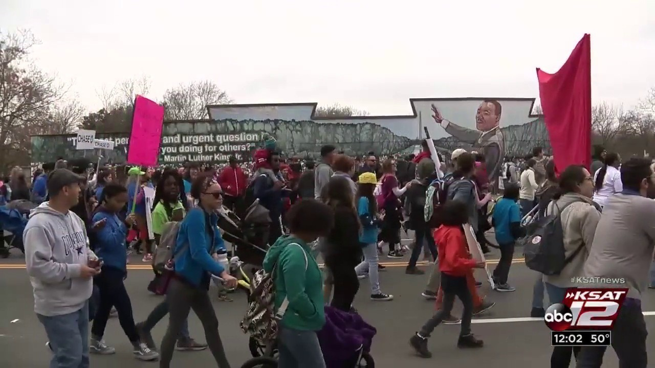 Thousands Partake In San Antonio S Mlk March