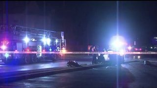 Police: Driver hits car head-on, runs from scene&#x3b; 1 in serious condition