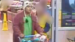 Police: Man in panda hat accused of stealing more than $160 in laundry detergent
