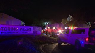 1 displaced after fire at NW Side apartment complex