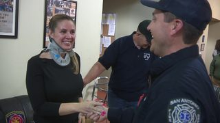 Woman survivestraumatic crash thanks to new resourceon SAFD EMS units