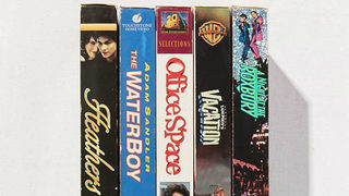 Urban Outfitters is selling packs of old VHS movies for $40