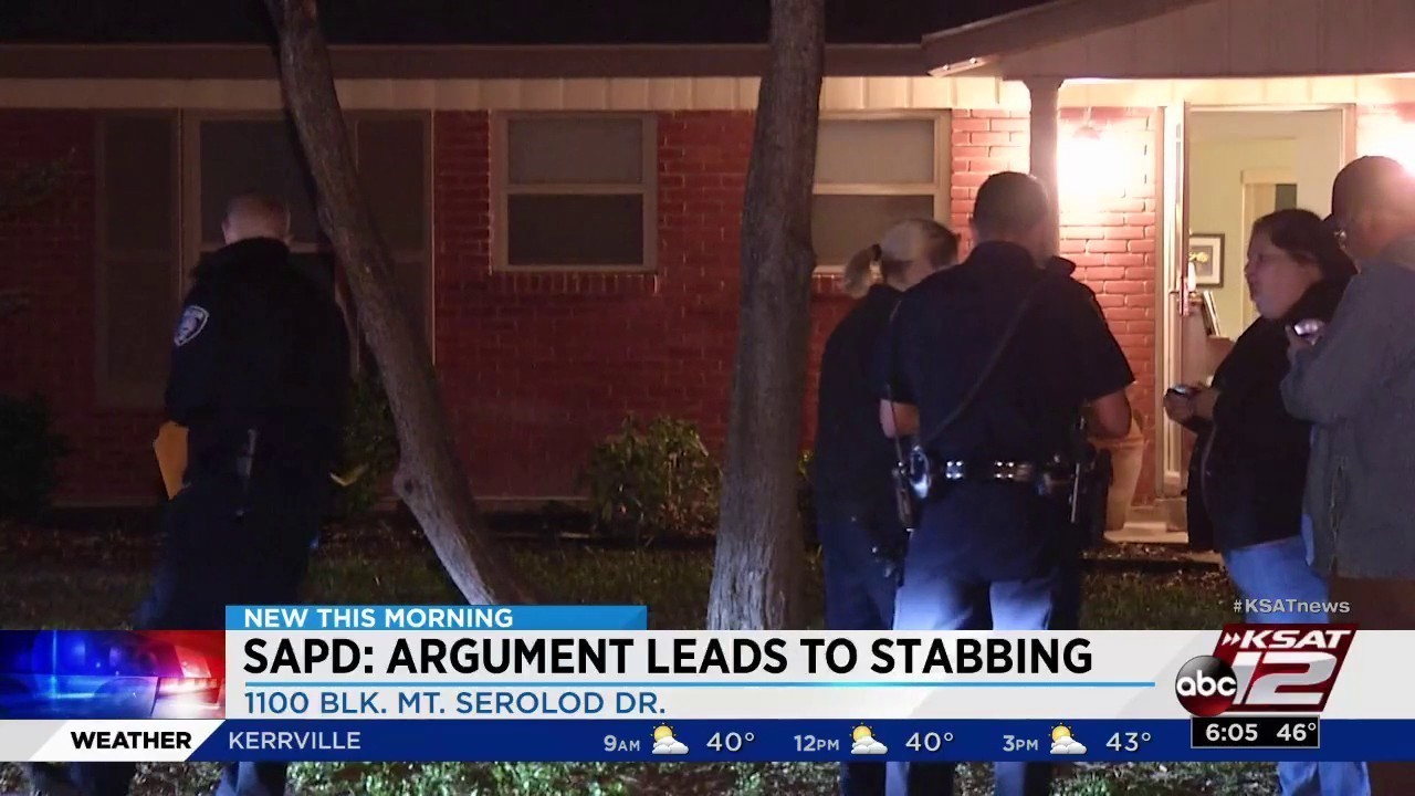Woman Detained After Stabbing Man During Argument Police Say