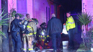 Fire damages bed-and-breakfast just south of downtown