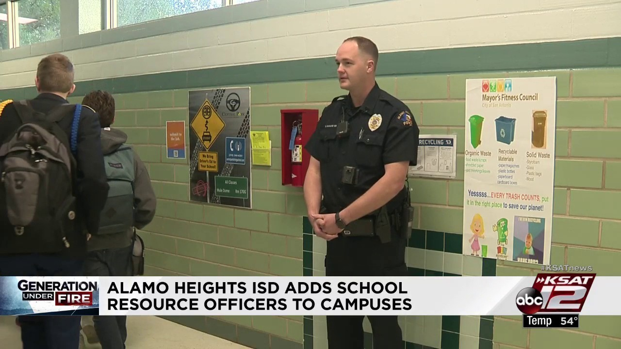 Alamo Heights ISD school resource officer adds new layer of