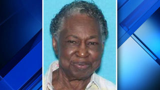 Silver Alert discontinued for missing woman, 89, with cognitive impairment