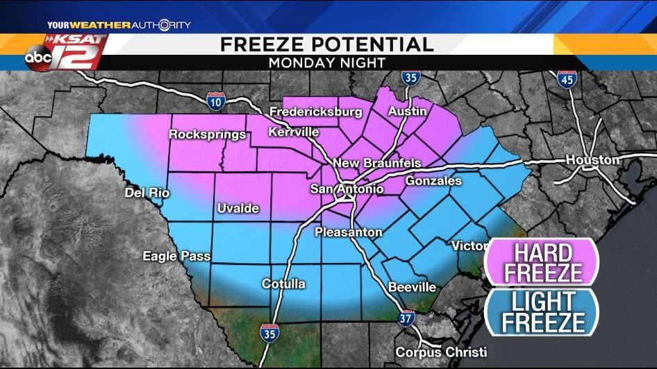 Oh, snap    Get ready for a cold snap!